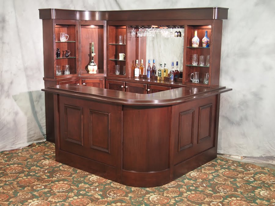 Bespoke House Bar Custom Made Home Bar