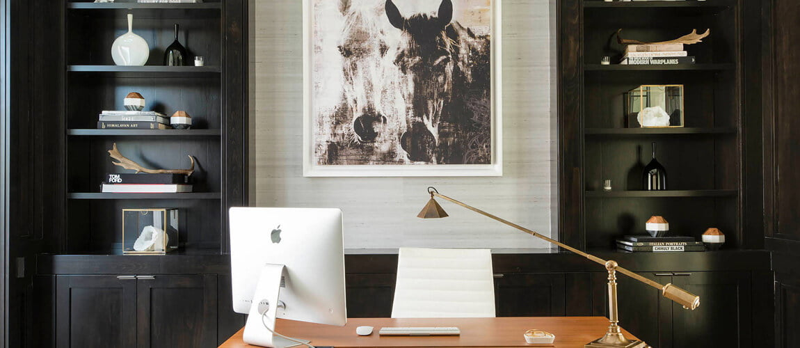custom home offices | bespoke home office setup & fitout