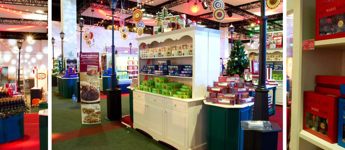 Custom Exhibition Stand For : Custom made christmas exhibition stand display stands