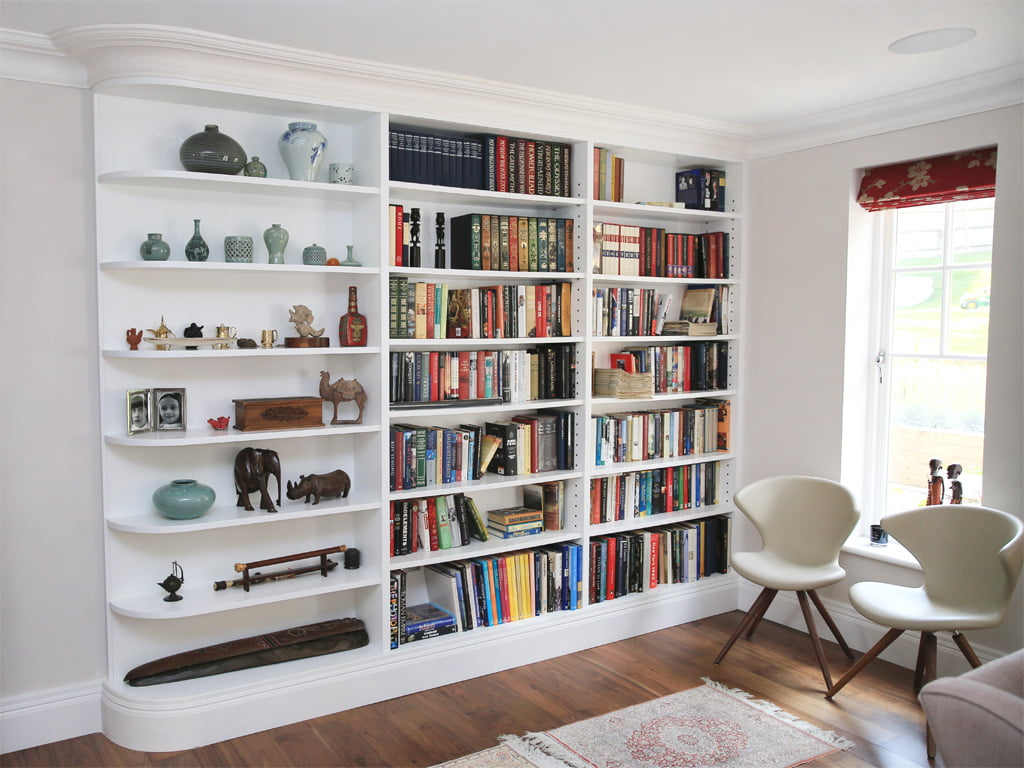 Pictures Of Built In Bookcases Alcove Units Custom Alcove Units Bookcases In Ireland