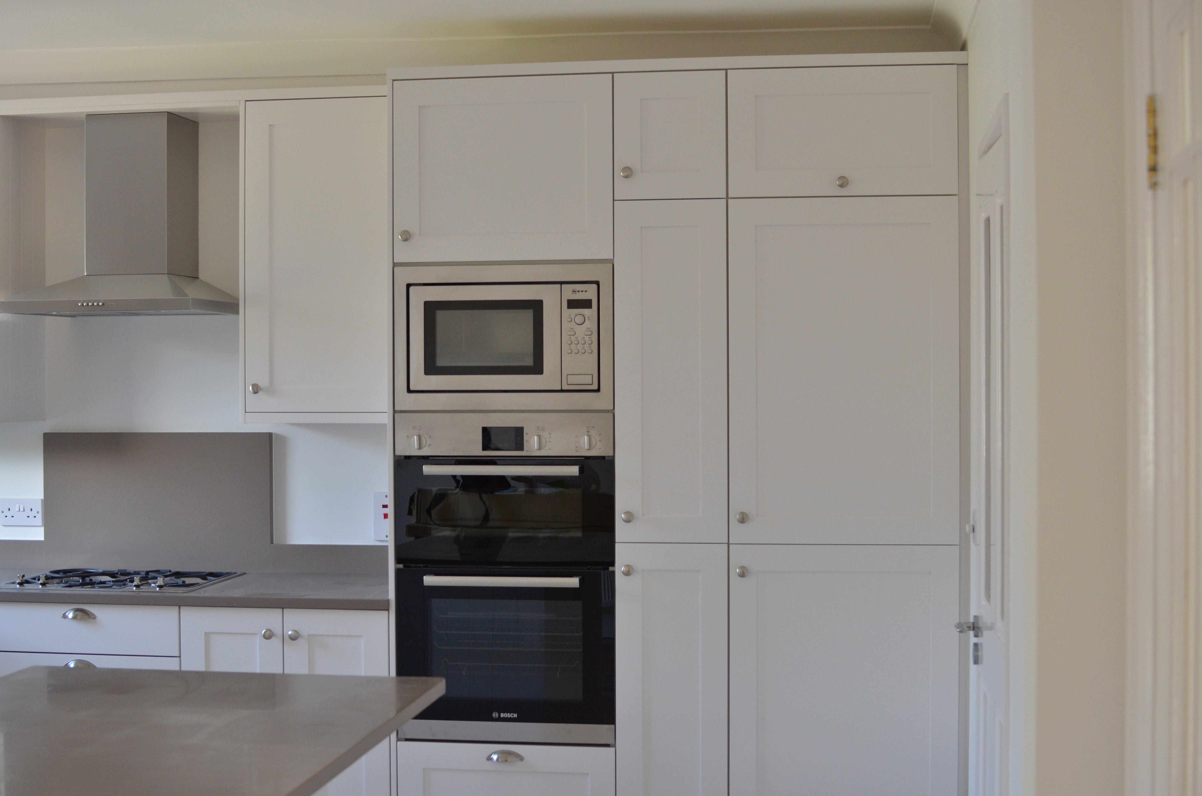 Custom Made Kitchen Cabinets Sprayed White Order Yours