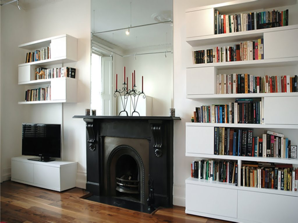 Built In Shelves For Living Room Dublin