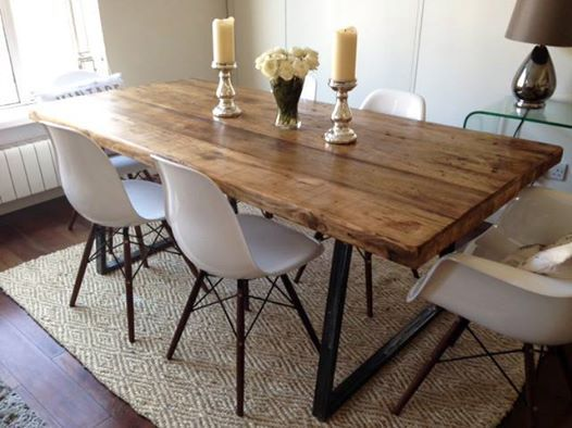 Dining tables cabinet maker dublin - Table salle a manger recup ...