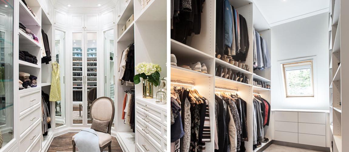 large room wardrobe