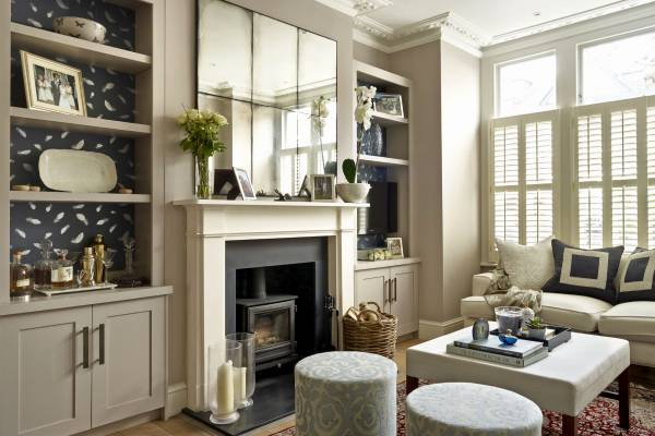 shaker style alcove units