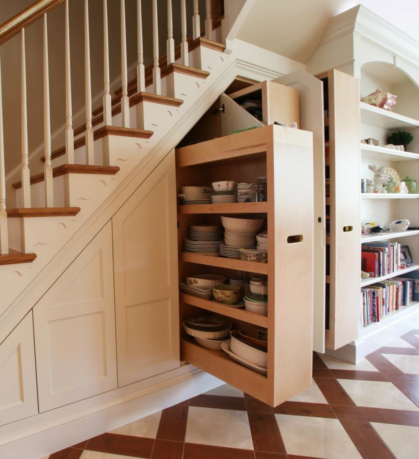 Bespoke Under Stairs Shelving