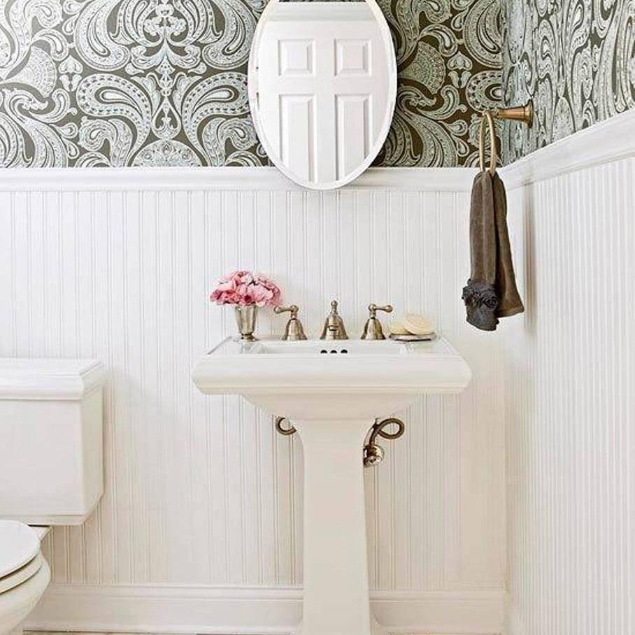 Bathroom V Groove Panels