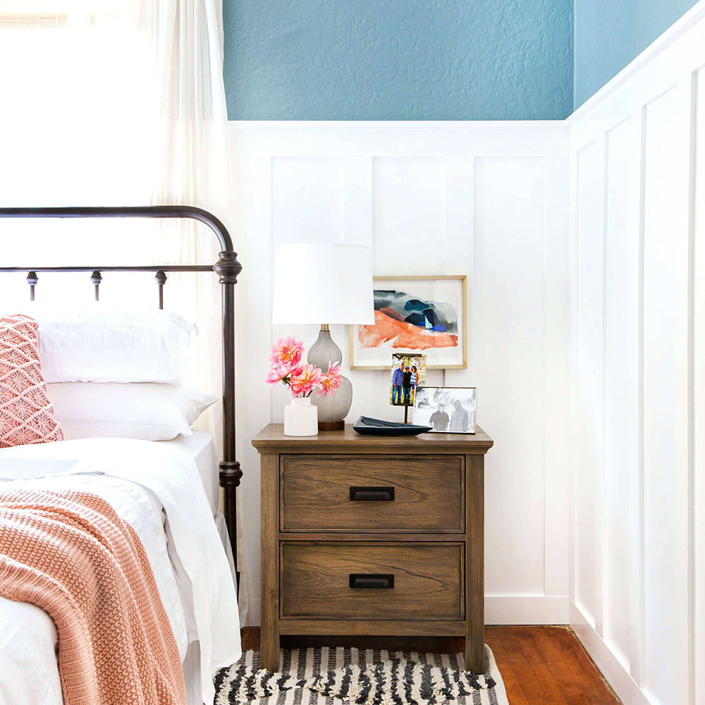 Flat Wall Paneling for Bedrooms