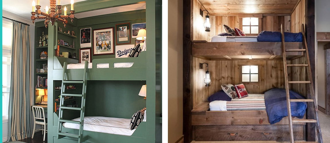 Full Bedroom Bunk Beds