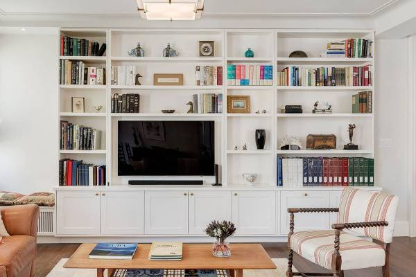 TV Units with Shelves