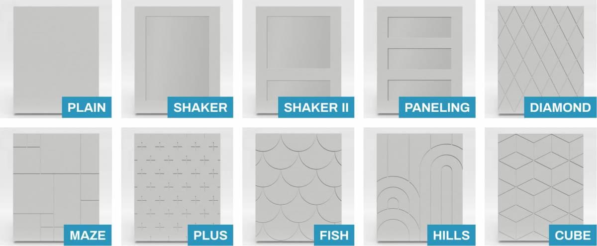 custom kitchen doors