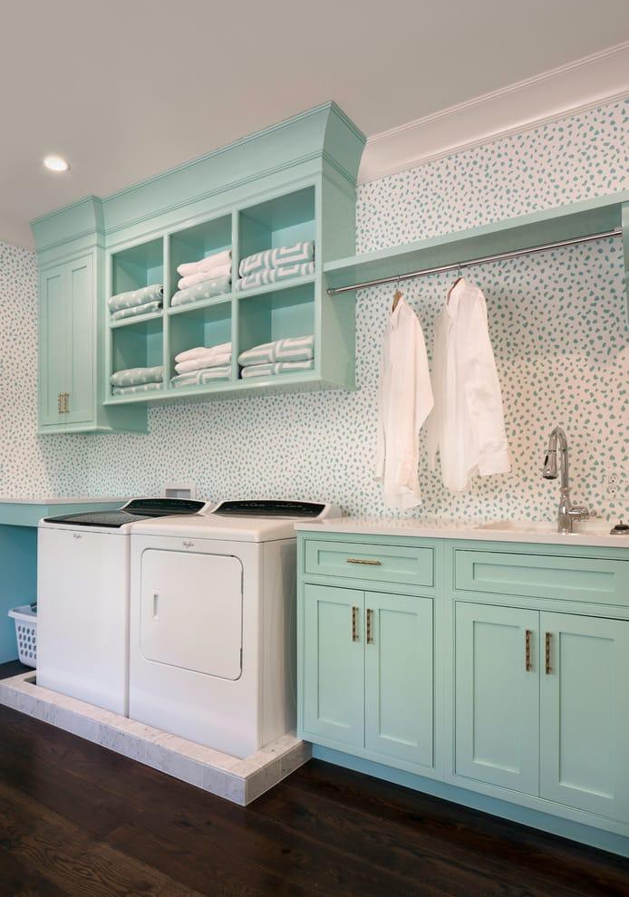 custom made utility room
