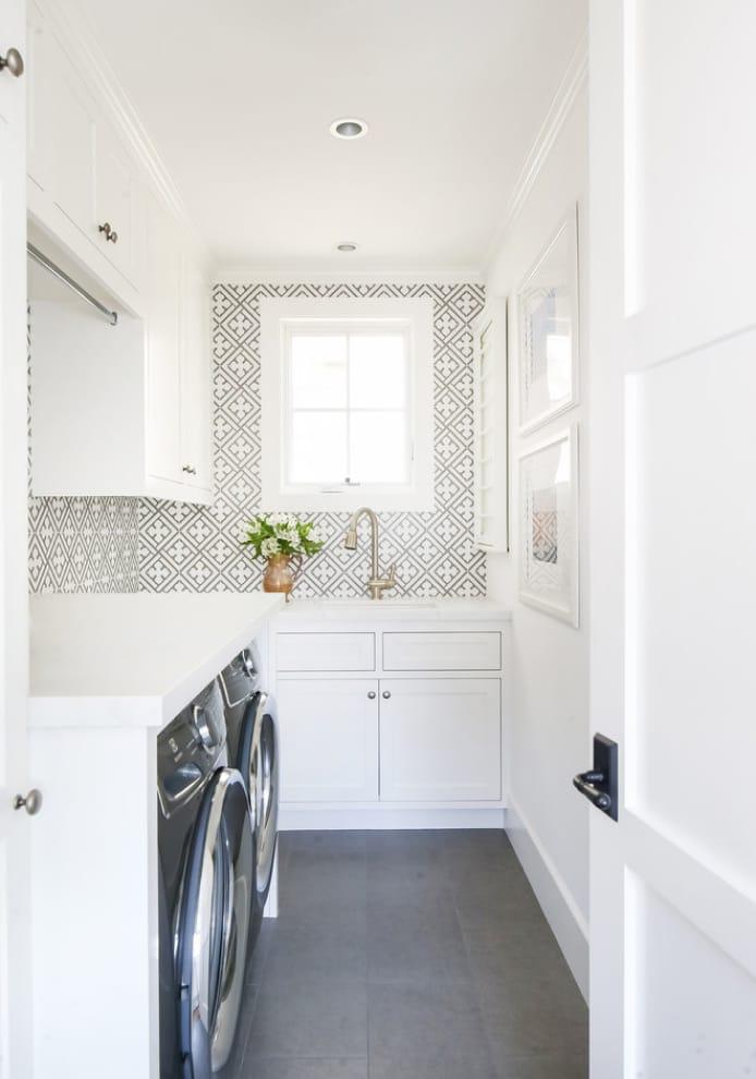 white utility rooms